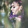 Leeandis bridal Kristen Rice large floral Lauren
