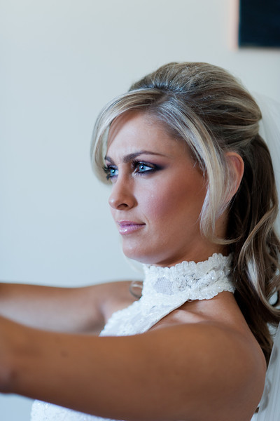 Brides make up MUA
