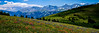View from Vail Pass Looking Toward the Ten Mile Range