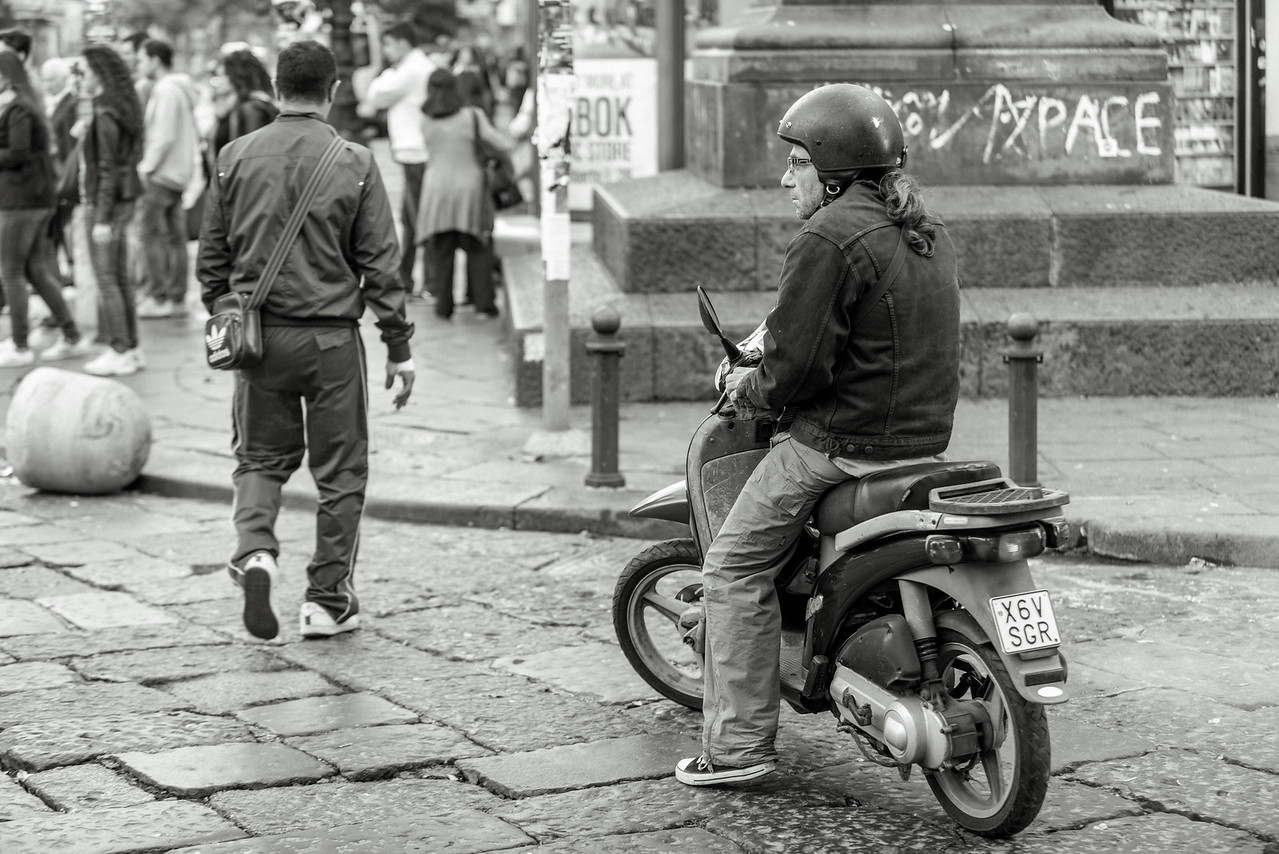 Naples Scooter Rider
