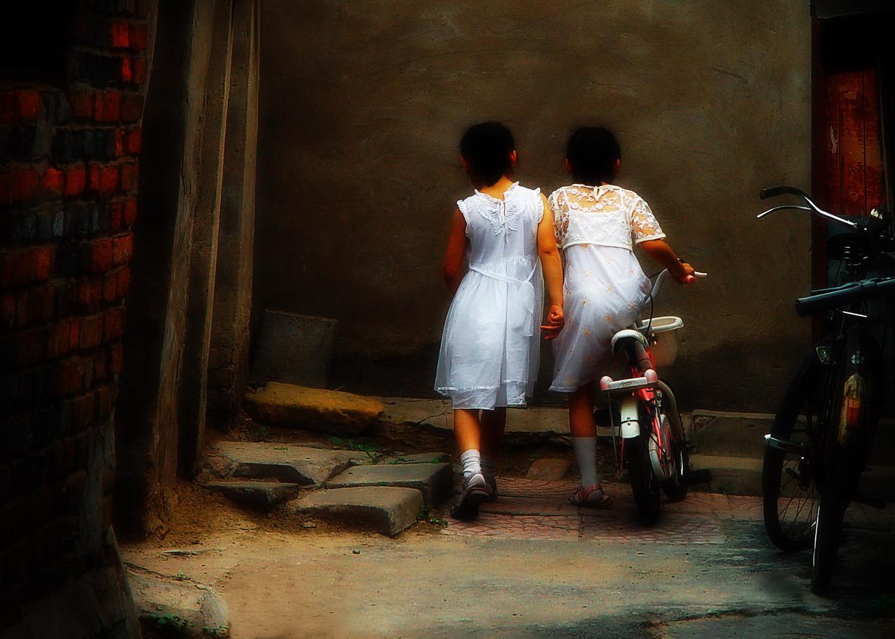 Beijing Hutongs, 2005.