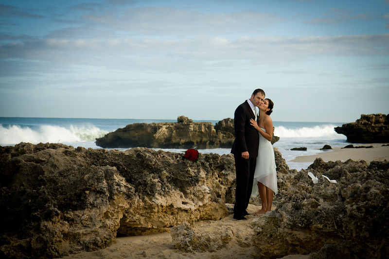 Wedding Photography Trig Beach near Perth