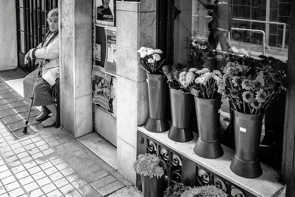 Athens Flower Cane Lady