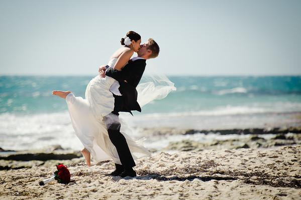 Perth Beach Wedding WA