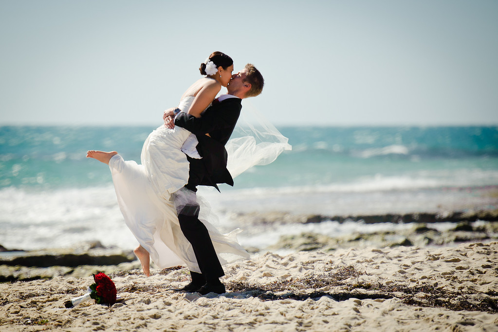 Perth Beach Wedding WA