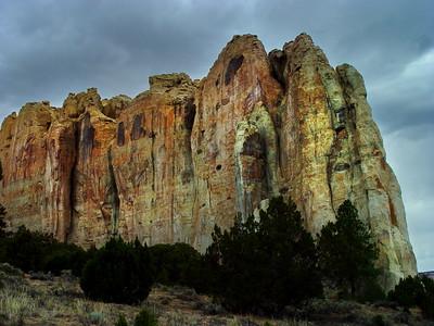 El Morro, Cibola County, New Mexico (aka Inscription Rock). 2004.