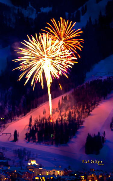 Thursday Fireworks at Beaver Creek