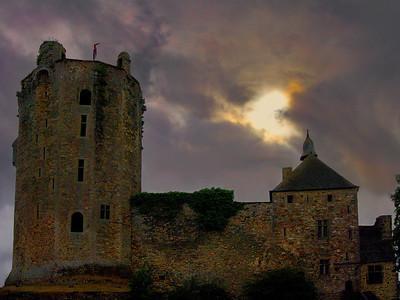 Briquebec Castle, France. 2011.