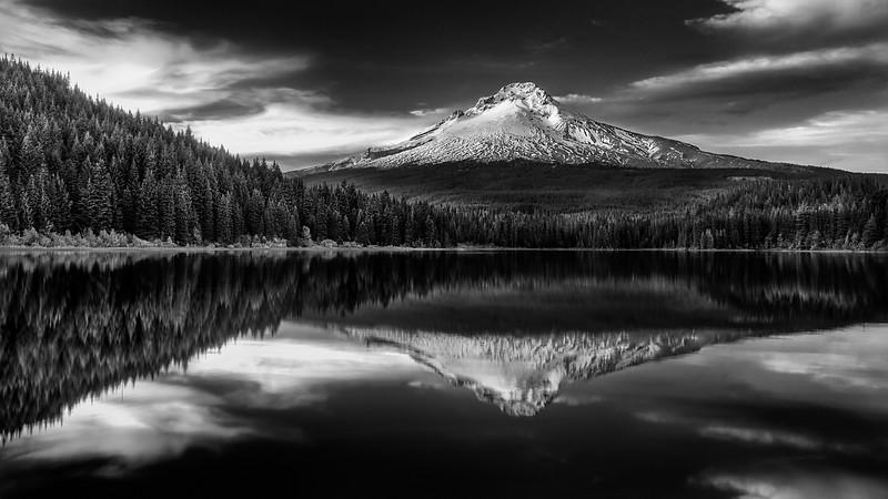 Mt. Hood, Trillium lake