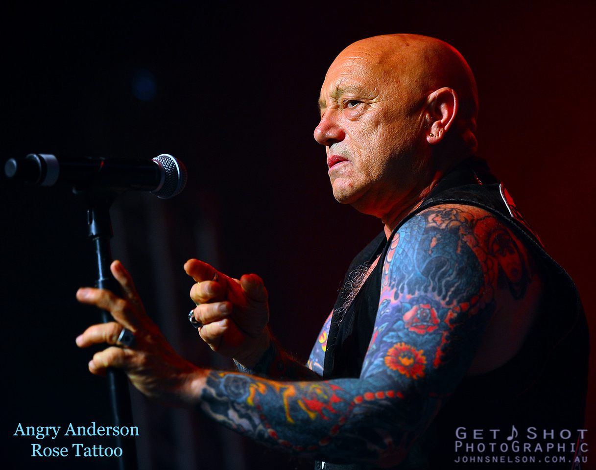 """Angry Anderson - """"Rock For Doc"""" Concert"""