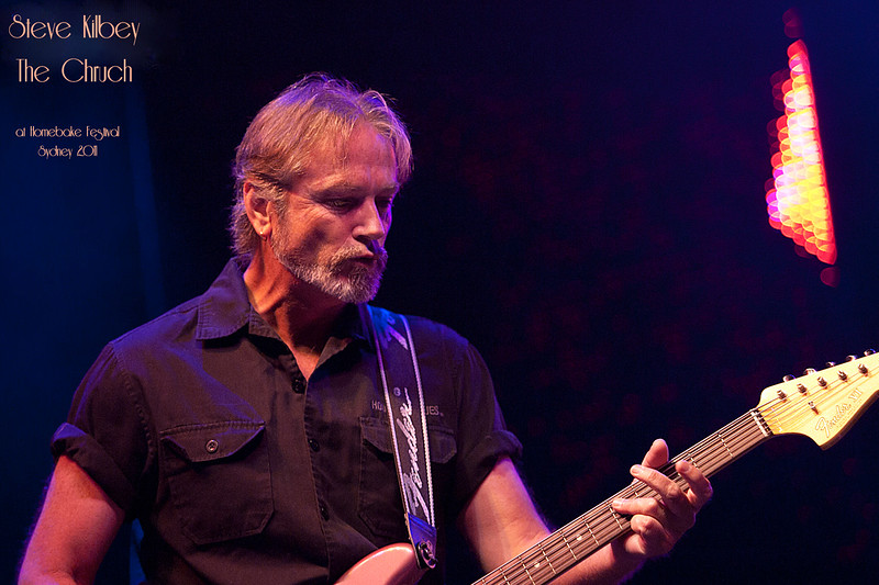 Steve Kilbey The Church - @ Homebake 2012