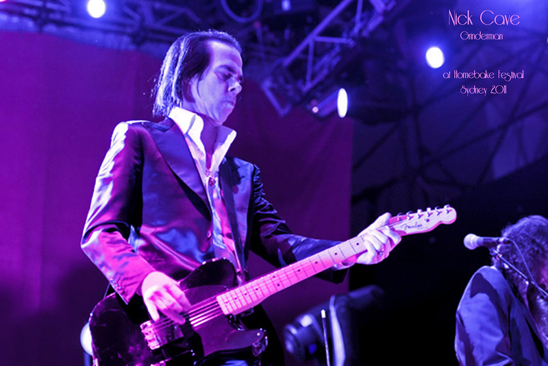 Nick Cave & Grinderman @ Homebake 2011