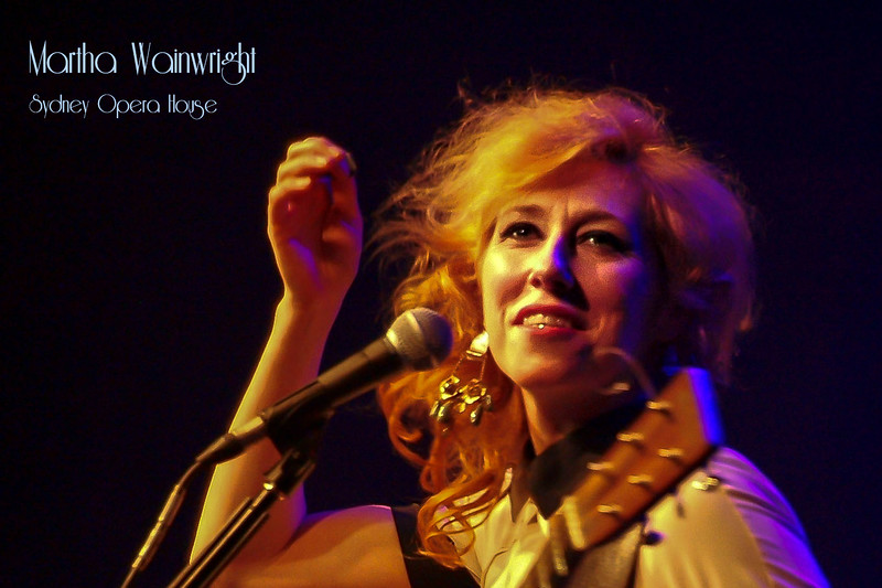 Martha Wainwright @ Sydney Opera House