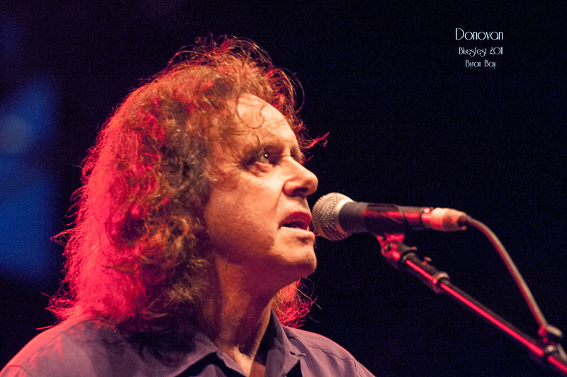 Donovan @ BluesFest 2012
