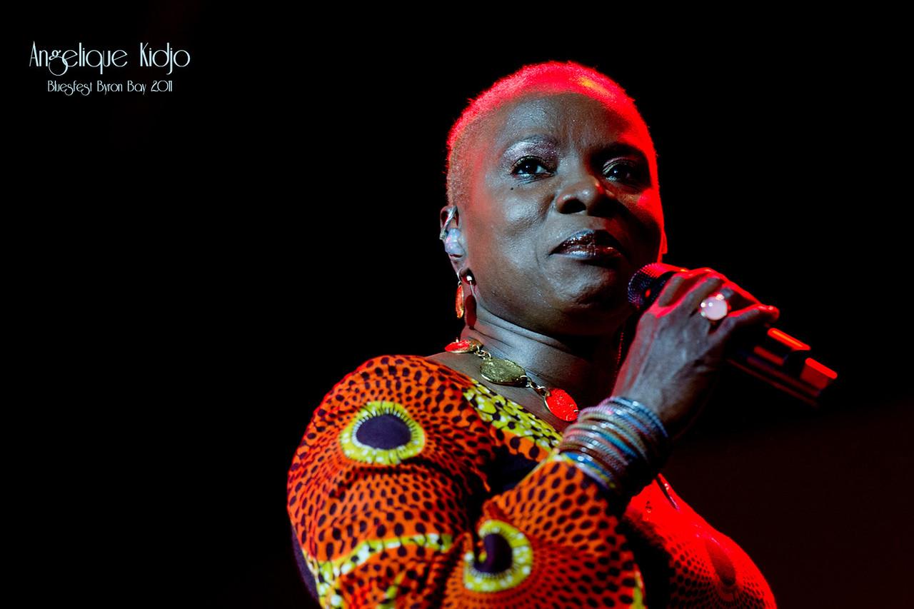 Angelique Kidjo @BluesFest 2015