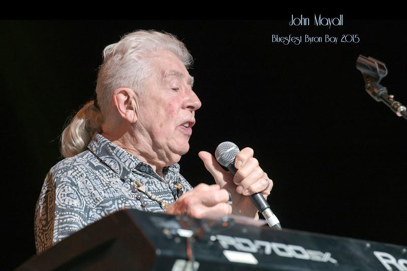 John Mayall @ BluesFest 2015