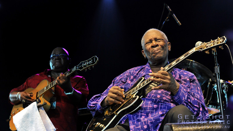 B.B. King @ BluesFest Byron Bay
