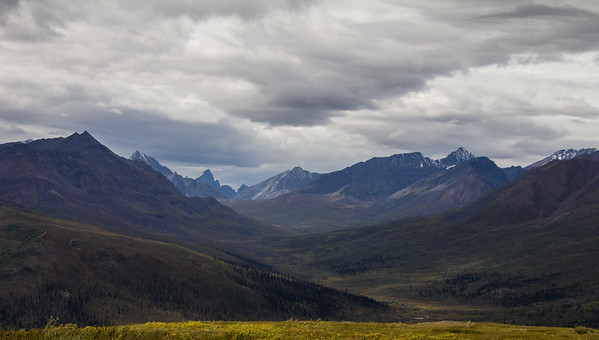 Tombstone Valley,  Dempster Highway 2