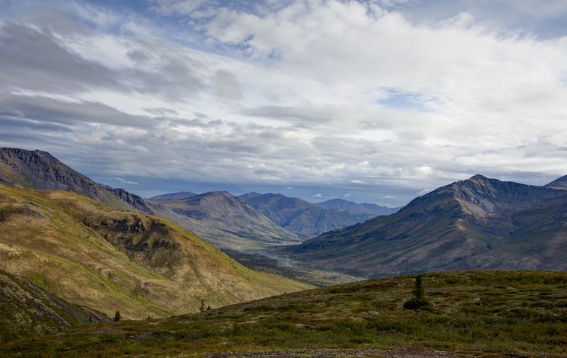 Tombstone Valley,  Dempster Highway 1