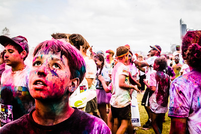 The Swisse Color Run in Perth