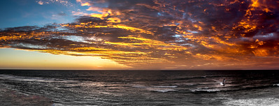 Sunset at North Beach, Perth