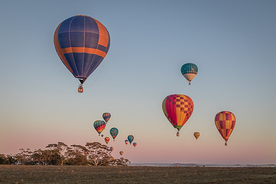 National Hot Air Ballooning Chaptionships, Northam, WA