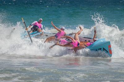 Surf Boat Spill