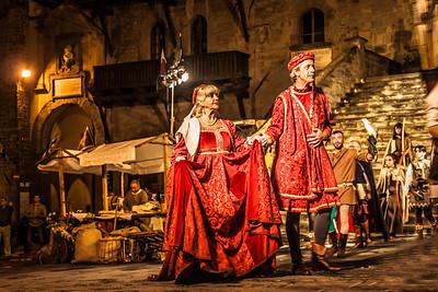 Medieval Festival in Cortona, Tuscany, Italy