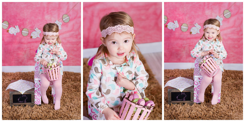 Easter holiday theme session copyrighted by laruecherie photography