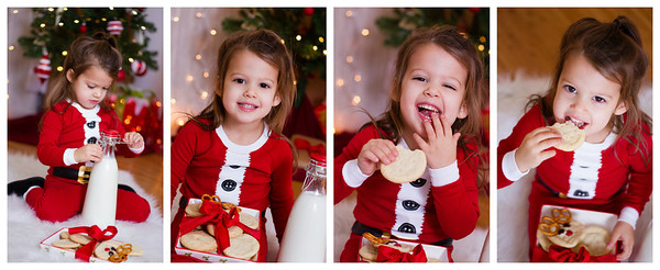 holiday theme session girl copyrighted by laruecherie photography