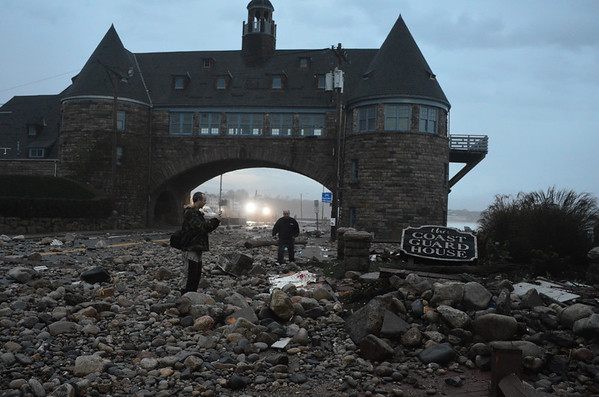 The Towers after Hurricane Sandy