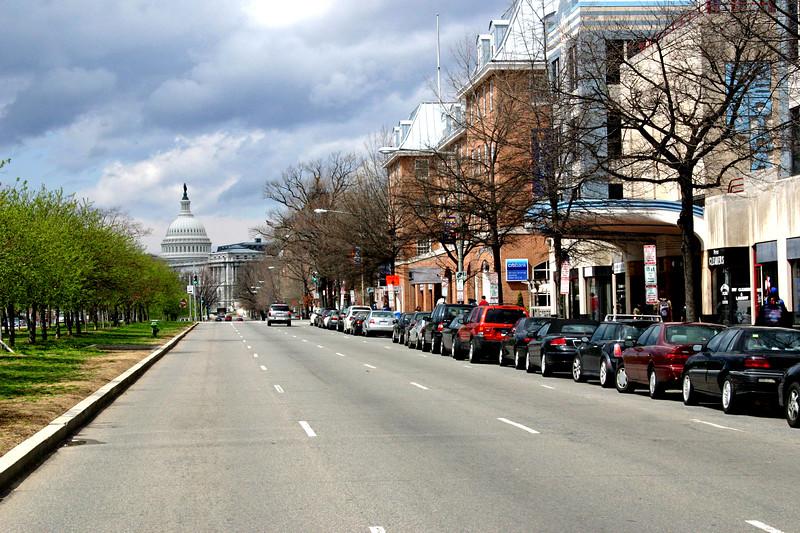 Capitol Hill, DC Neighborhood street scene