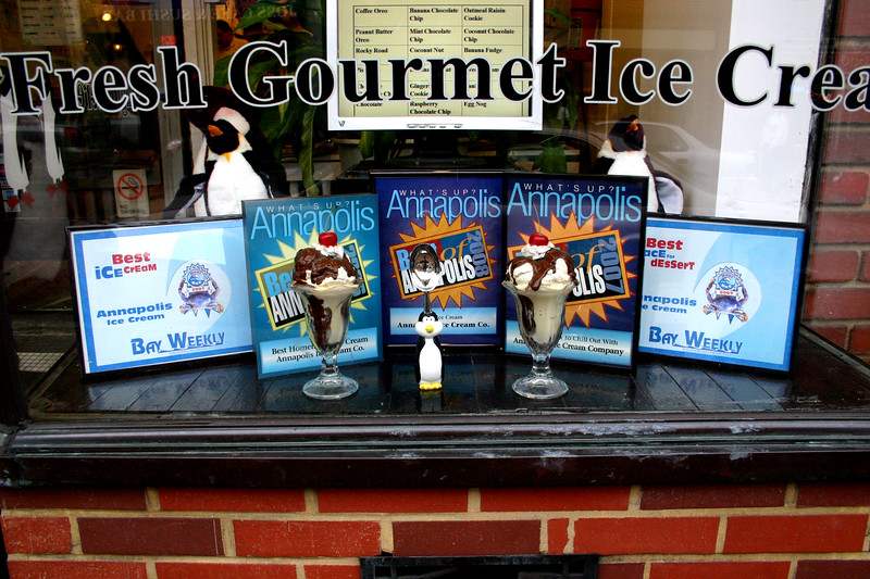 Ice Cream - Street Scene - Annapolis, Maryland