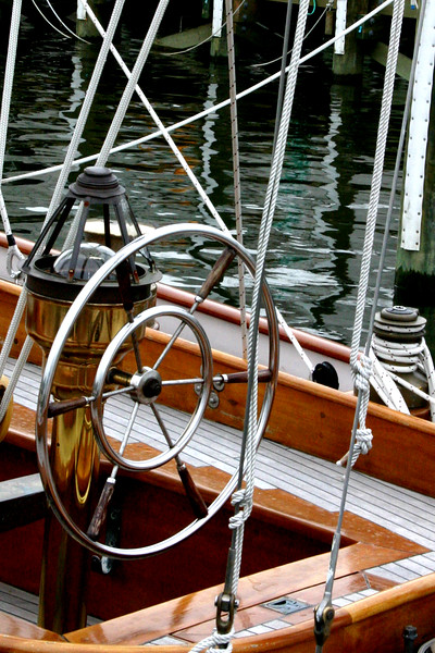 In 1962 JFK chose the Manitou as his Presidential Yacht - now restored and on display at the docks of Annapolis.  Built in 1937, the Yawl was a racing vessel - winning several races on the Great Lakes in the 1940's.