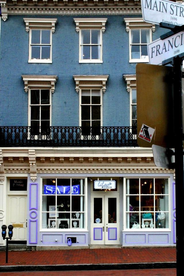 Street Scene - Annapolis, Maryland
