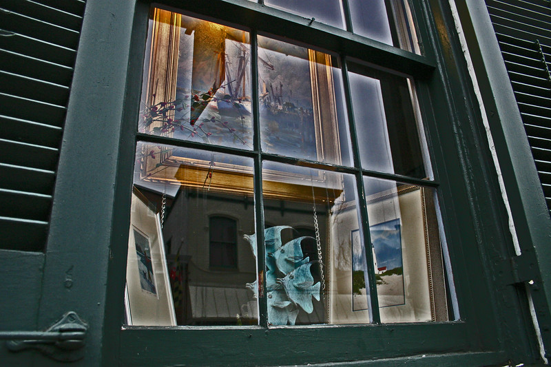 Window Shopping - Street Scene - Annapolis, Maryland