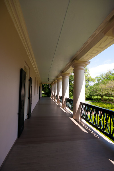 """Located on the Mississippi River between the historic Louisiana cities of New Orleans and Baton Rouge, Oak Alley Plantation has been called the """"Grande Dame of the Great River Road"""". Images from the Gardens, the interior and grounds.. Another marvelously maintained step back into Louisiana's storied past.."""