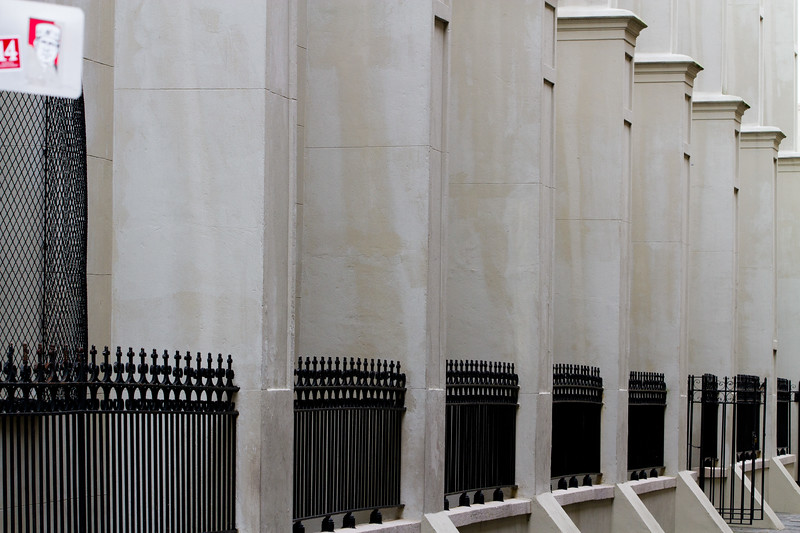 Built to withstand wind, rain, earthquake and time itself, the French Quarter's buildings set several feet below the surface of the Mississippi, protected only by levy and the Grace of God.. Find here a study of their aged details..