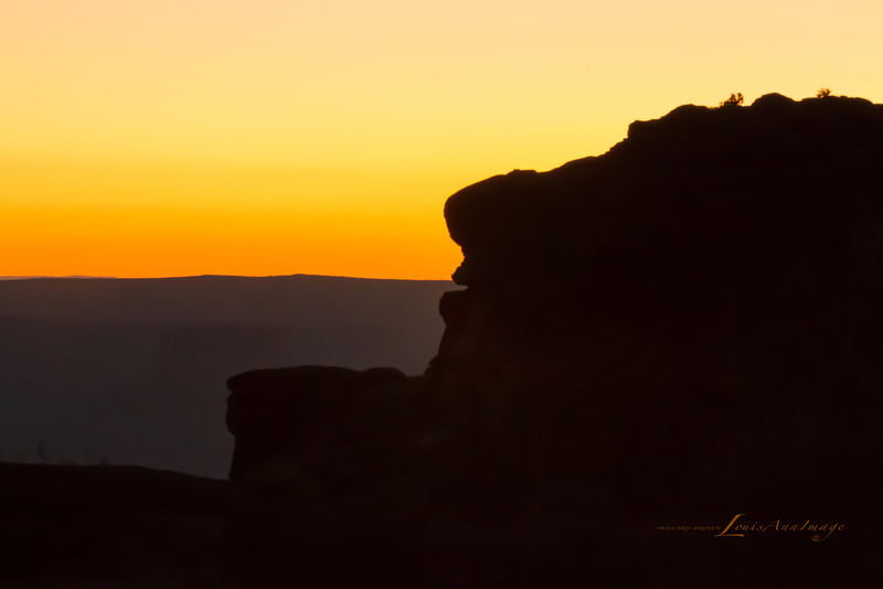 Face of the Chief - Green River Gorge Overlook, Island in the Sky, Canyonlands NP, Utah