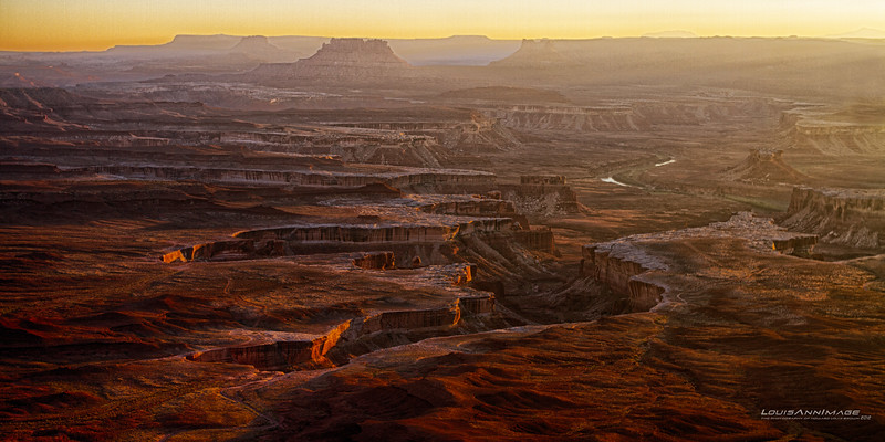"""Green River Gorge, Canyonlands, NP<br /> 6 Exposure HDR<br /> See More of Arizona & Utah - """"The Southwestern Sun' here: <a href=""""http://smu.gs/RfQCCf"""">http://smu.gs/RfQCCf</a>"""
