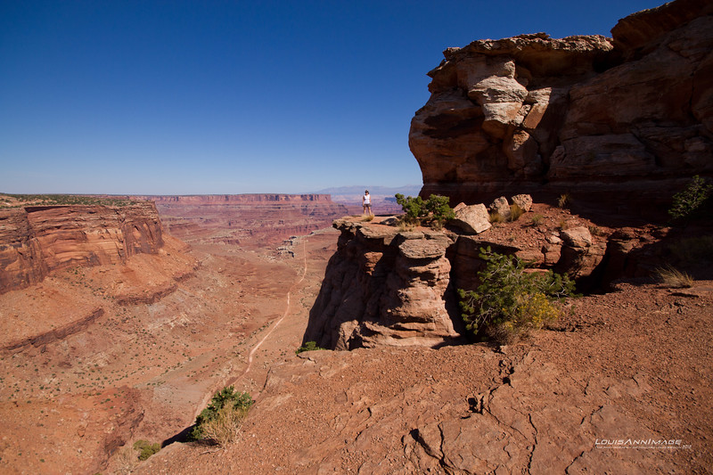"""Red at Canyonlands NP, UT<br /> See More of Arizona & Utah - """"The Southwestern Sun' here: <a href=""""http://smu.gs/RfQCCf"""">http://smu.gs/RfQCCf</a>"""