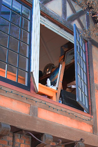 """The Painter's Loft Window"" - from the walk - Carmel"