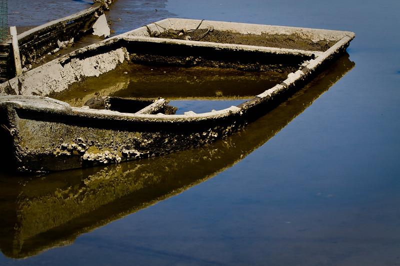 """Contri Date: April 18, 2011 - """"Sunk..""""   Tax Day......     <br /> Cedar Key, Florida<br /> See our Cedar Key Gallery at: <a href=""""http://www.louisannimage.com/Travel/Our-America/Cedar-Key-Old-Floridas-Big/"""">http://www.louisannimage.com/Travel/Our-America/Cedar-Key-Old-Floridas-Big/</a>"""