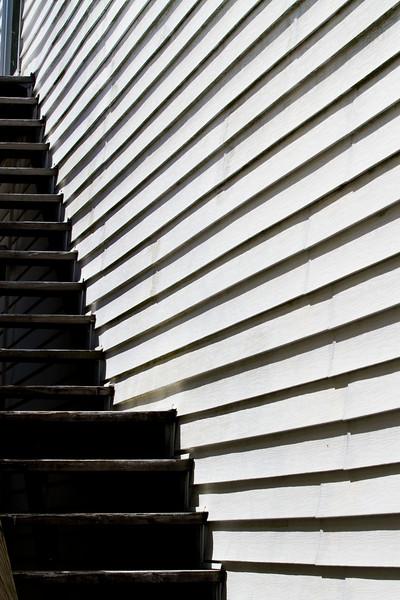 Stairs - 2nd Street - Cedar Key