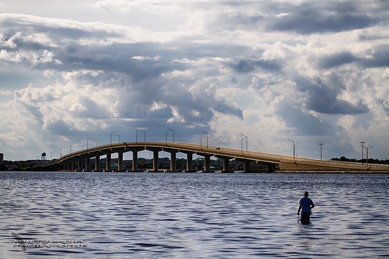 Netting a Catch - Merritt Island National Wildlife Refuge, Florida