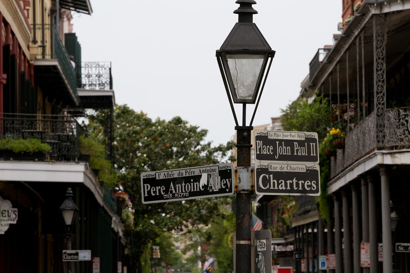 What you see on any given day (or evening) stroll through the French Quarter..