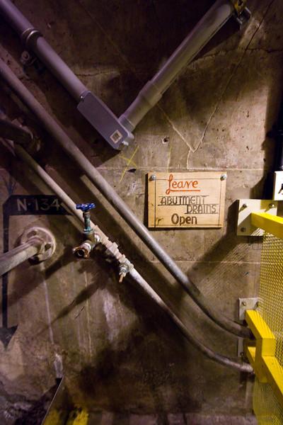 The little details..., deep inside Hoover Dam.