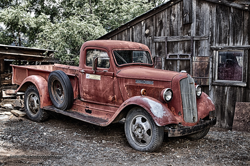 '36 Dodge Brothers Pickup - Before the Ram...