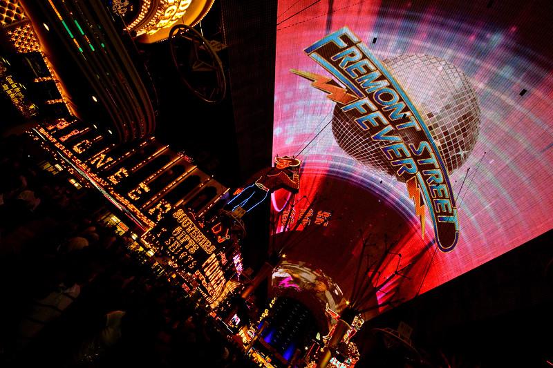 Fremont Street Experience - Light & Sound, Las Vegas, Nevada