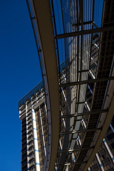 Elevated Monorail Tracks, Las Vegas, Nevada